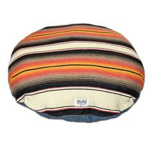 Serape Circulo Dog Bed by Salvage Maria - Brown