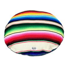 Serape Circulo Dog Bed by Salvage Maria - Tan