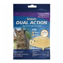 Sergeant's Dual Action Flea & Tick Collar II for Cats