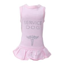Service Dog Dress by Hello Doggie - Pink