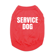 Service Dog Shirt - Red