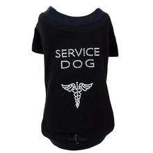 Service Dog T-Shirt by Hello Doggie - Black
