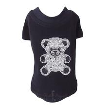 Teddy Bear Dog T-Shirt by Hello Doggie - Black