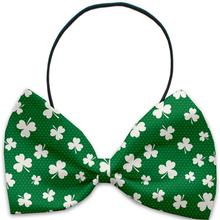 Shamrock Dog Bow Tie