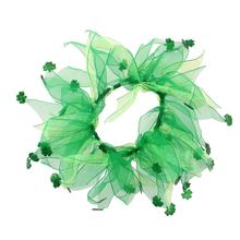 Shamrock Smoocher Dog and Cat Scrunchie