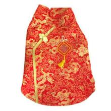 Shanghai Dress Dog Costume - Red