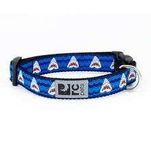 Shark Attack Adjustable Clip Dog Collar By RC Pets