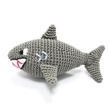 Shark Crochet Dog Toy by Dogo
