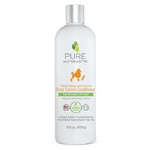 Pure and Natural Pet Shed Control Conditioner for Dogs - Sweet Orange and Coconut