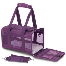 Sherpa Travel Original Deluxe Dog Carrier - Plum