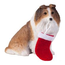 Shetland Sheepdog Christmas Ornament - Sable