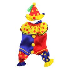 Shiny Clown Dog Costume