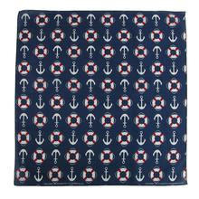 Life Saver & Anchors Nautical Dog Bandana