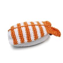 Shrimp Sushi Crochet Dog Toy by Dogo