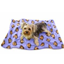 Silly Monkey Ultra-Plush Dog Blanket by Klippo - Lavender