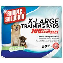 Simple Solution X-Large Dog Training Pads - 50 Count