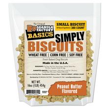 K9 Granola Factory Simply Biscuits Dog Treats - Peanut Butter