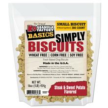 K9 Granola Factory Simply Biscuits Dog Treats - Steak & Sweet Potato