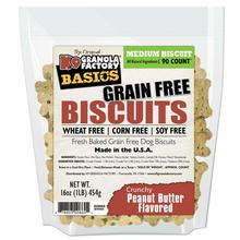 K9 Granola Factory Simply Biscuits Grain Free Dog Treats - Crunchy Peanut Butter