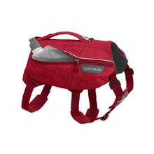 Singletrak Hydration Dog Pack by RuffWear - Red Currant