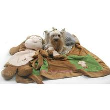 Sleep Over Monkey Dog Blanket And Toy Set By Oscar Newman