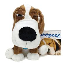 SleepeeZ Plush Dog Toy - Brown