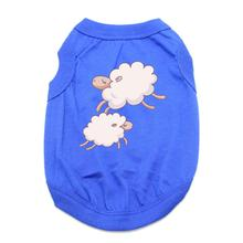 Sleepy Sheep Dog Shirt - Blue