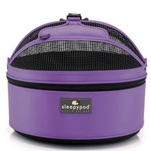 Sleepypod Mobile Pet Carrier Bed - True Violet