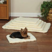 Slumber Pet Double-Sided Sherpa Pet Mat - Natural