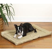 Slumber Pet Water-Resistant Dog Bed - Tan
