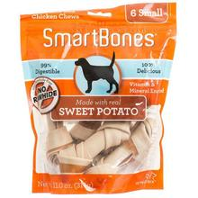 SmartBones Chew Bones Dog Treats - Sweet Potato