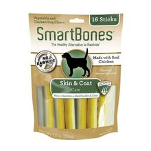 SmartBones Functional Sticks Dog Treat - Skin & Coat