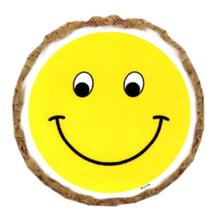 Smiley Face Dog Treat Cookie