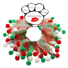 Smoochers Dog and Cat Scrunchie - Christmas Fuzzy Wuzzy