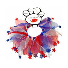 Smoochers Dog and Cat Scrunchie - Patriotic Stars