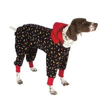SnoJam Dog Fleece by Ultra Paws - Toofers Black/Red