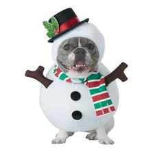 Snowman Dog Holiday Dog Costume