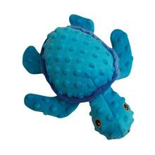 Snugarooz Tucker the Turtle Dog Toy - Blue