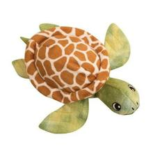 Snugarooz Shelldon the Turtle Dog Toy - Green