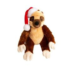 Snugarooz Holday Sasha Claus the Sloth Dog Toy