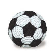 Soccer Ball Crochet Dog Toy by Dogo