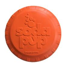 SodaPup Bottle Top Flyer Dog Toy - Orange