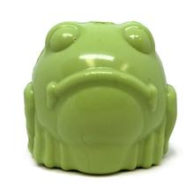 SodaPup Ultra Durable Bull Frog Dog Toy - Green