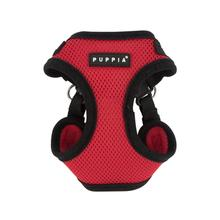 Soft Adjustable Step-In Dog Harness by Puppia- Red