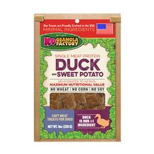 K9 Granola Factory Soft Meat Dehydrated Dog Treat - Duck with Sweet Potato