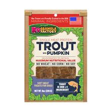 K9 Granola Factory Soft Meat Dehydrated Dog Treat - Trout with Pumpkin