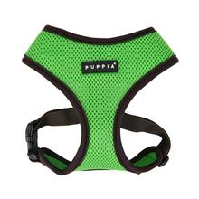 Soft Mesh Dog Harness by Puppia - Green