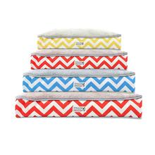 Soft N' Tuff Rectangular Pet Crate Bed by Doggie Design - Wave Print