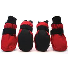 Soft Paw Protectors Dog Boots - Red