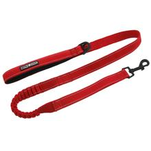 Soft Pull Traffic Dog Leash by Doggie Design - Red